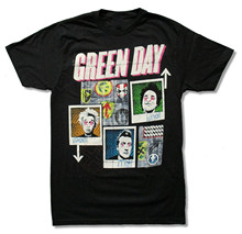 "GREEN DAY ""99 REVOLUTIONS TOUR"" BLACK SLIM FIT T-SHIRT NEW OFFICIAL ADULT NWT design my t shirt"