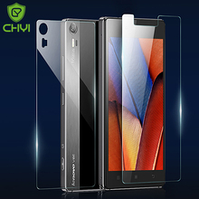 Front +Back Tempered Glass Film For Lenovo Vibe shot Z90 Screen Protector Original CHYI Brand 9H Oleophobic Coating Protective