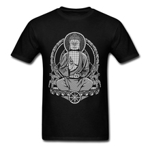 Latest Gautama Buddha Fade T Shirts Man O Neck Mens T Shirts Fashion 2017 Cheap Price Crewneck Teenage Tshirt