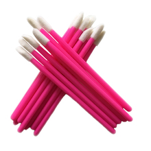 Wholesale Price for 1000 pcs Disposable Cosmetic Lip Brush Lipstick Gloss Wands Applicator Makeup Tool Brushes(China)