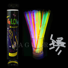 50pcs/lot Christmas Party Concert Fluorescent Bracelets Glow Sticks Birthday Wedding Party Decoration Night Light Sticks UK CN