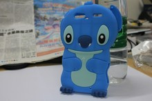 Luxury 3D Lovely Kawaii Cartoon Stitch Soft Silicone Back Cover Phone Case For MOTOROLA DROID ZAZR XT910(China)