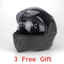 DOT Approved Motorcycle Helmet with Inner Sun Visor Flip Up Safety Double Lens High Quality Abs Full Face Motorcycle Helmets