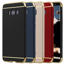 Letme Case For Samsung Galaxy S8 Plus S7 edge Hard Plastic Matte Cover 360 Degree Protection For Samsung Galaxy S8