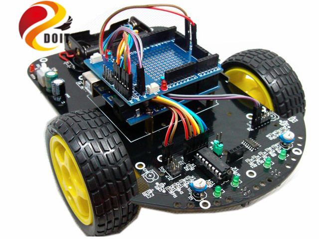 Official DOIT Smart Car Intelligent RC Robot Starter Kit Diy Elecotronic Toy Development Suit raspberry pi remote control toys<br><br>Aliexpress
