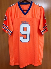 Bobby Boucher #9 The Waterboy Football Jersey Adam Sandler Orange All stitched(China)