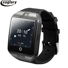Q18 Plus Smart Watch Android OS Phone 3G GPS WiFi Wristwatch HD Camera Video Smartwatch 512MB/4G Bluetooth Clock Whatsapp Skype(China)