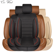 Buy car wind brand leather car seat covers Universal Covers car seats peugeot 206 geely emgrand ec7 seat leon bmw e36 accessory for $124.20 in AliExpress store