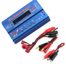 80W Build-Power iMAX B6 Lipro NiMh Li-ion Ni-Cd RC Battery Balance Digital Charger Discharger For RC Helicopter Quadcopter