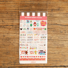Cute Words Decor Stickers Photos Decor Props Stickers For DIY Handmade Children Scrapbook Photo Album(China)