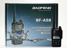 2 pcs BaoFeng BF-A58 IP57 Waterproof Radio 5-10Km Long Range  walkie talkie 2 Way A58 For CB Radio Station Ham Radio Transceiver