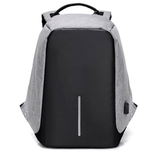 Anti-theft Backpack USB Charging Men Laptop Backpacks For Teenagers Male Mochila Waterproof Travel Backpack School Bag Dropship(China)