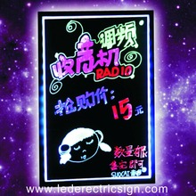 led writing board for menu board restaurant fast food price advertising display(China)