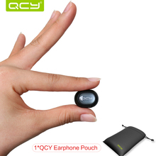Wireless Bluetooth Headset QCY Q26 English Voice Headphone Sport Driving Music Earphone with Mic for Samsung Xiaomi  iPhone