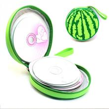 Watermelon Pattern 24 Sleeves Game CD Bag DVD VCD Discs Slots Organizer Wallet Storage Sheet Case Holder PTSP