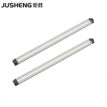 LED Aluminum Lamp 2pcs/lot 30cm Long 12V LED Cabinet Lights 3W Lighting Fixture bar for Furniture / Showcase / Wardrobe(China)