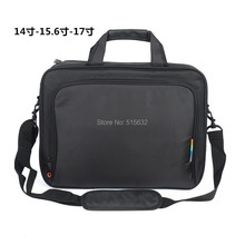 Free shipping retail 2015 new nylon black laptop bag for men notebook bag for 14 15 15.6 inch computer accessories,notebook bag