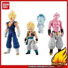 "100% Original BANDAI SHODO Action Figure Vol.3 Full Set - Super Saiyan Vegetto (9cm) & Gotenks (7cm) & Buu from ""Dragon Ball Z"""