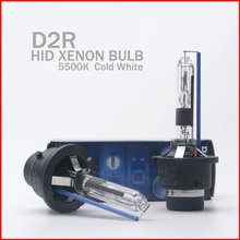 2x D2R 35w 66250CBI Car Auto for HID Xenon Replacement Headlight lamp bulb 4300K 5500K For All Cars With Color Box