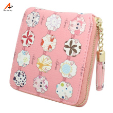 Mini Ladies Woman Owl Wallet Women Purses And Wallets Women's Purse Clutch Female Leather  Carteira Portefeuille Femme 45