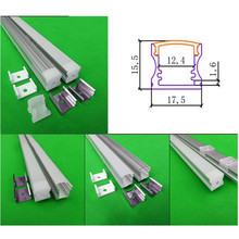 Free shipping 10pcs 12vdc Samsung 5630 SMD led bar lights with profile ,18W/M led cabinet light,led linear strip  LHS-17.5*12.5