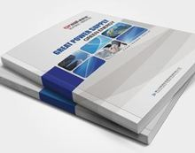 500 presentation folder and 250 copies catalogue and 250 copies catalogue printing