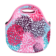 SBR Thermal Insulated Portable Lunch Bag Women Kids Waterproof Lunch Cooler Box Tote Food Container Hangbag Messenger Bagg