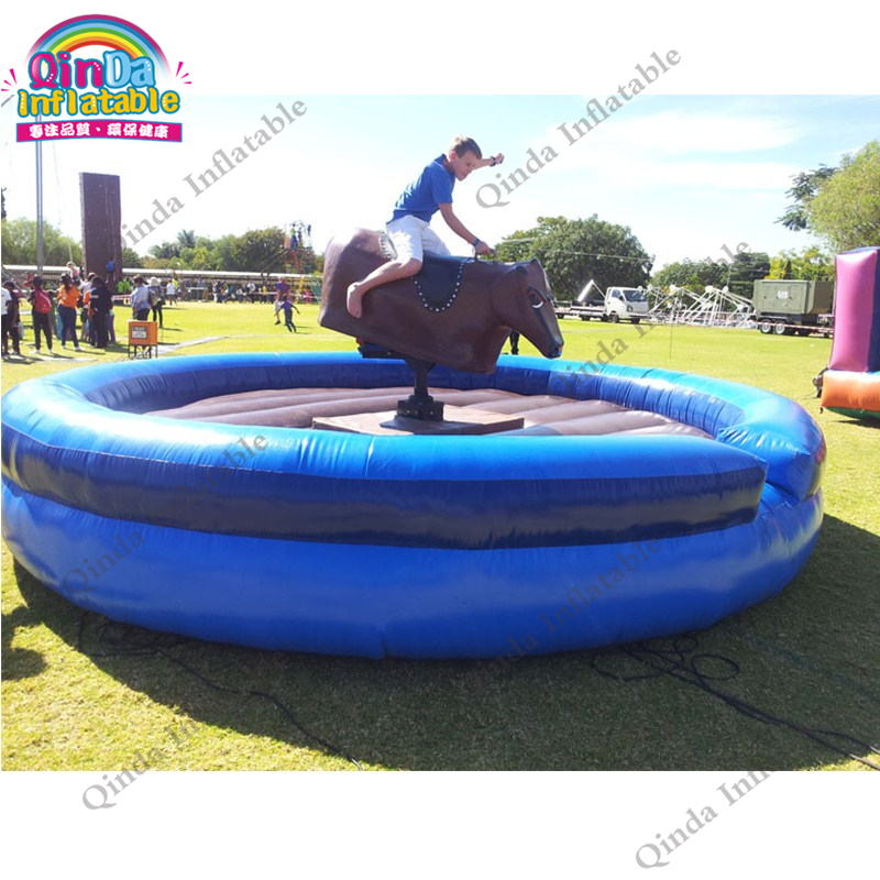 inflatable mechnical bull mat29