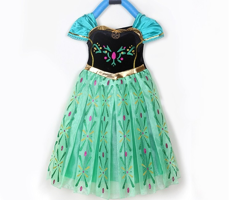 kids baby boy girl clothes dress  Foreign trade clothing exported girls princess skirt  frozen<br><br>Aliexpress