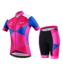 2017 new pink jersey short sleeve  women clothing wicking breathable outdoor summer bike cycling Jersey