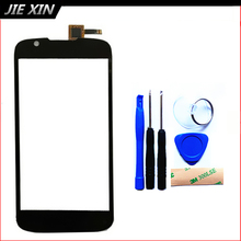 Tools+3M Sticker New Replacement Touch Screen For Fly iq4413 iq 4413 Cell Phone Digitizer Front Glass free shipping