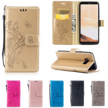 Luxury 3D Embossing Flower Leather Wallet Case For Samsung Galaxy J3 J5 J7 A3 A5 A7 2016 S7 Edge S8 Plus Flip Cover Stand Case