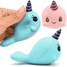 Squeeze, Unicoen Squishies Slow Rishing Phone Strap Vent Toy(China)