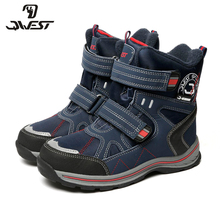 QWEST(FLAMINGO) 2017 new collection winter fashion snow boots with wool high quality anti-slip kids shoes 72M-YC-0415/ 0417