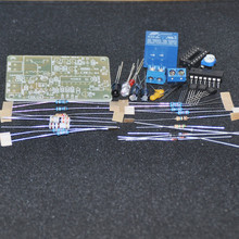 DIY Electronic Kit Infrared Proximity Relay DIY Kit Unsoldered Control Switch Trigger Automatic Faucet Module 12V 250V 10A Flux