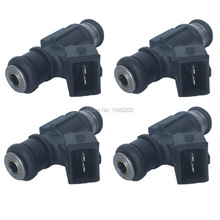 25345994 Set 4 Fuel Injector Nozzle For Mitsubishi jinbei great wall jiang ling land wind OE # 25342385 25335146(China)