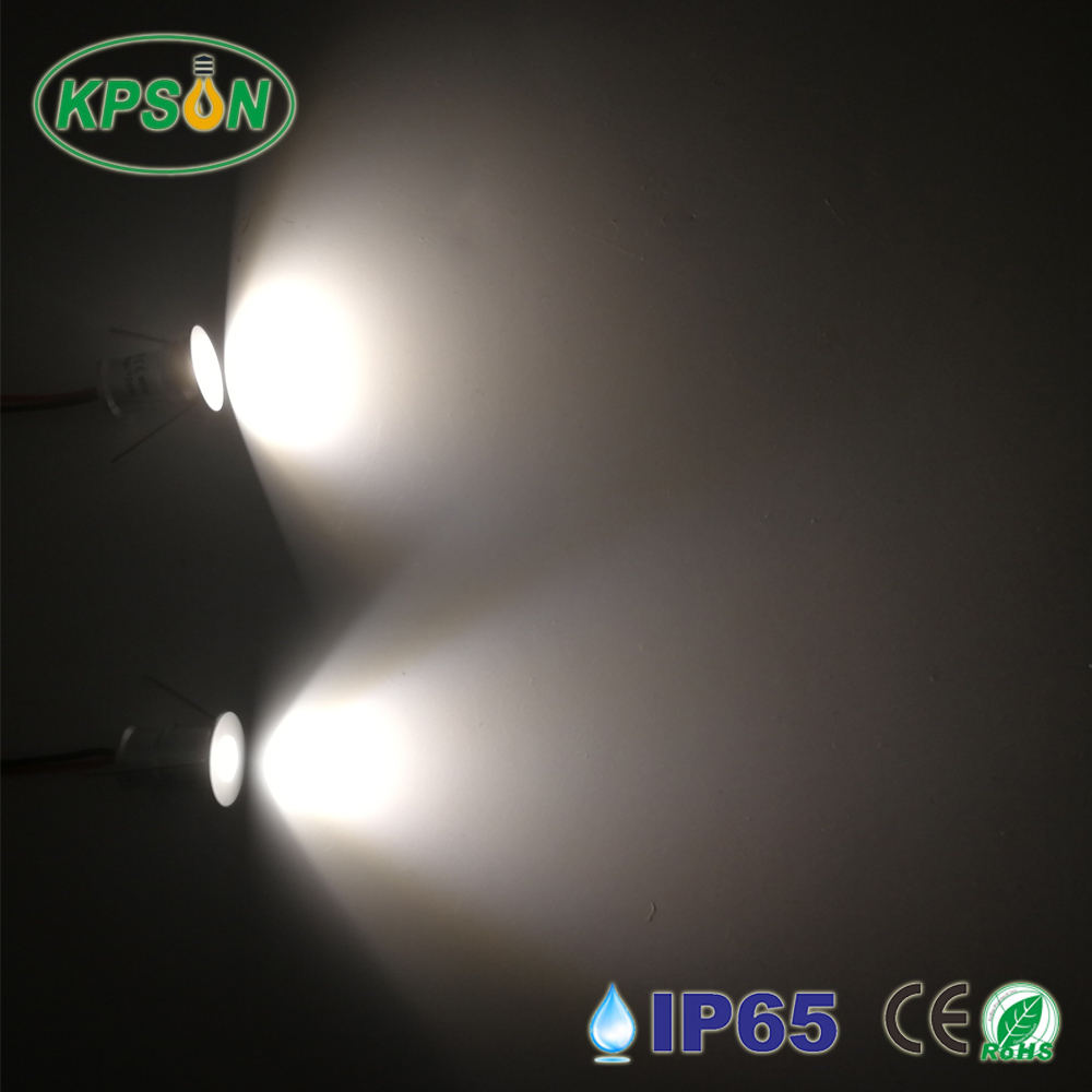 12V Led Spotlight Cabinet Mini Spot Light IP65 Waterproof Recessed Down light Cupboard Showcase Display Light 1W Aluminum with driver (3)