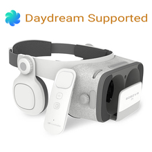 BOBOVR Z5 3D Virtual Reality Glasses VR Headset Cardboard VR Box + BT Gamepad Remote Control for iOS Android Daydream Smartphone