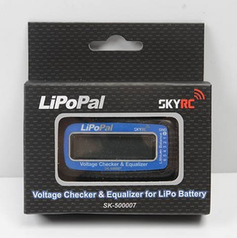free shipping SKYRC LiPo Pal - LiPO checker and self voltage balancer Model:SK-500007<br><br>Aliexpress