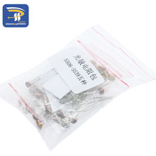 Photoresistor kit 5 kinds*10pcs 5506 5516 5528 5537 5539 kit Light Dependent Resistor LDR 5MM Photoresistor package(China)
