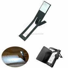 1PC Black Flexible Folding LED Clip On Reading Book Light Table Lamp For Reader Kindle Beside Lamps #G205M# Best Quality