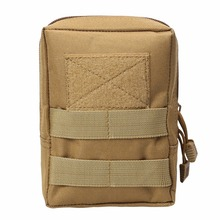 Tactical Molle Bag 600D Nylon Pouch Portable Outdoor Mobile Phone hunting bag Travel Military Sport Waist bag