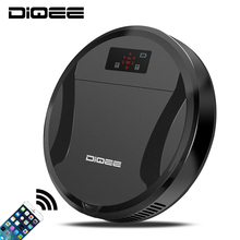 2017 Smart Robot Vacuum Cleaner for Home wireless Sweeping Dust Gyro navigation Planned Clean Phone App control camera DIQEE330C