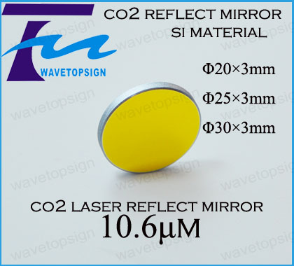 Co2 Laser SI Reflective Mirrors  25*3mm Dia 25mm thickness 3mmLaser Engraving and Cutting Machine<br><br>Aliexpress