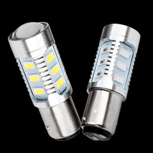 1157 12 5630 SMD BAY15D P21/5W High Power stop lamp 21/5w led car bulb brake Lights Source parking light White Red Yellow 12V