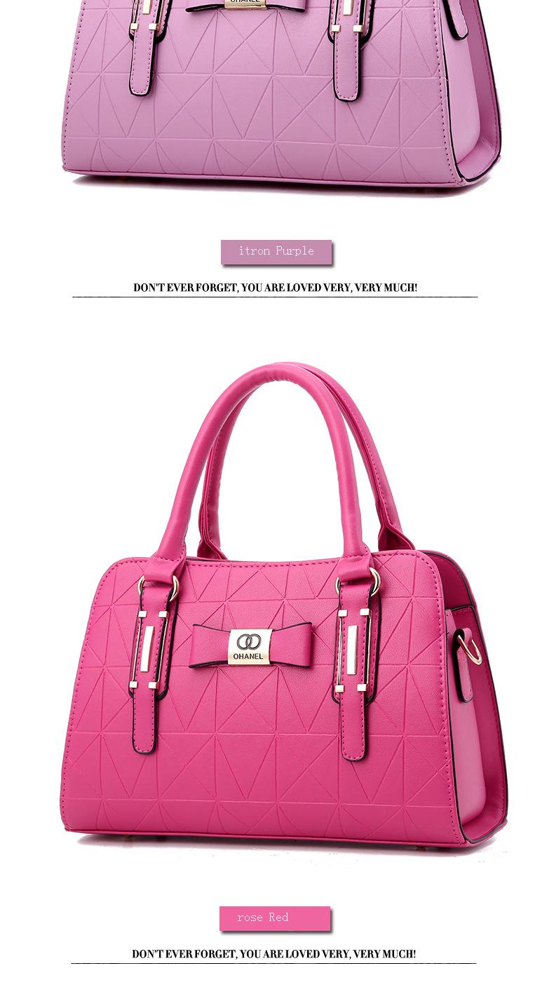 MICKY KEN Hot Sale Fashion Women Leather Handbag 13
