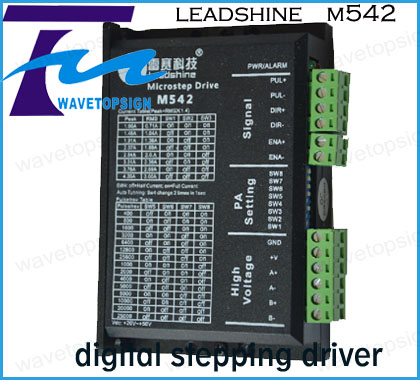 Leadshine 2 Phase Analog Stepper Driver M542 Max 50 VDC 4.2A for Stepper Motor NEMA 23<br><br>Aliexpress