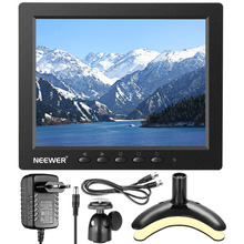 Neewer Monitor 4:3 TFT-LCD 1024x768 Resolution HDMI VGA BNC AV Audio Input Built-in Speaker for PC/Canon/Nikon/Sony DSLR Video(China)