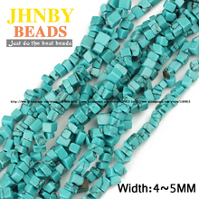 JHNBY Imports Synthetic stone Irregular Gravel beads 88cm Freeform Chips Loose beads Jewelry bracelet making Accessories DIY()