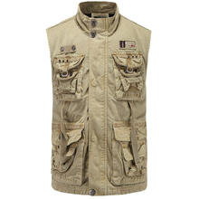 New Mens Waistcoat  Director Vest Clothing  Wear  Military Army Color  093